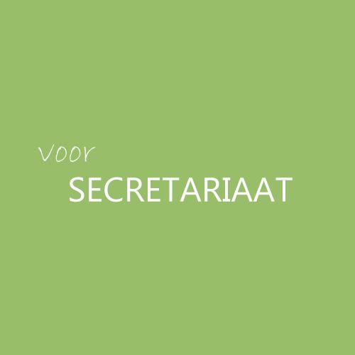 VOOR-SECRETARIAAT